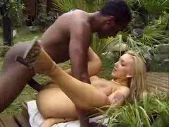 Tight Teen Has An Interracial Romp