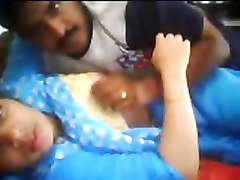 Indian Couple fucks in front Webcam
