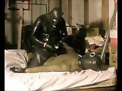 latex catsuit under wetsuit domination